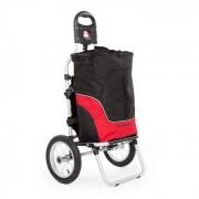 Carry Red Rimorchio da Bici Carretto a Mano Carico Massimo 20 Kg nero/rosso