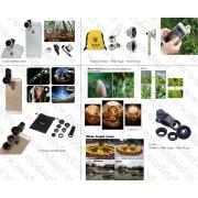 Външен обектив за телефони и таблети 'Fish Eye'