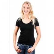 Garage Women T-Shirt Round Neck Black ( art 0701)