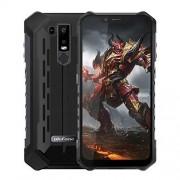 "Ulefone Armor 6S IP68 teléfono celular resistente al agua desbloqueado, Android 9.0 Smartphone al aire última intervensión 6.2"" 19:9 FHD+, Helio P70 6GB + 128GB, Dual 4G LTE Global Bandas, GPS+GLONASS+NFC, batería de 5000 mAh, a prueba de golpes, 6.2 oz ("