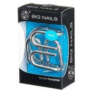 Braintwister - Hjärngympa - Metallpussel Big Nails - Svårighetsgrad 3