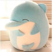 New 2017 Super Cute whale dolphin Plush animals Stuffed toys [Blue]