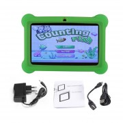 EY Q88 Niños Tablet De 7 Pulgadas, 512 MB+4GB33 Quad Core Android 4.4 PC-Verde