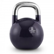 Compket 20 Kettlebell Bola de Peso 20 kg Aço Halterofilia Musculação Exercício Fitness Azul Escuro