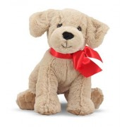 Jucarie Din Plus Catelusa Labrador Auriu Sunny Melissa And Doug