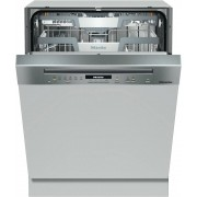 Miele G7100 SCi CleanSteel Built In Semi Integrated Dishwasher