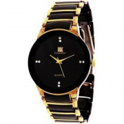 i DIVA'S iik Gold-Black watches for men by japan