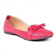 TEN Red Fabric Loafers TENLFCTRRED01