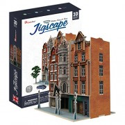 CubicFun 3D Jigsaw Puzzle - Jigscape Collection Auction House & Stores (Difficulty: 5/6)