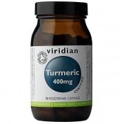 Viridian curcuma 400mg (organique), 90 Veg Caps