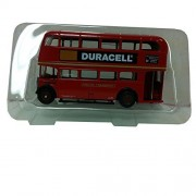 Exclusive First Editions (EFE) Duracell Double Deck Bus London Transport 10101 1:76 Scale Red Diecast Car Replica