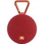 Bluetooth® zvučnik Clip 2 JBL Harman funkcija slobodnog govora, zaštićen od prskanja crvena