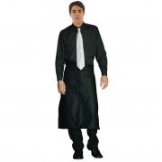 Chef Works Uniform Works unisex overhemd lange mouw zwart XL - XL