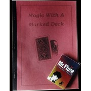 MAGIC WITH A Marked Deck ( Book) and Marked Deck Mr. Fluke Kit