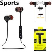 Wireless Sports Bluetooth Magnet Earphone Headset Headphone Colour as in Picture