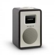 """Numan Mini One radio numérique design TFT 2,4"""" Bluetooth DAB+ FM AUX Line-Out Noir"""