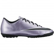 Zapatos Fútbol Hombre Nike Mercurial Victory V Tf-Plateado