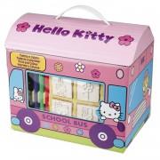 Multiprint kleurset Hello Kitty 17-delig roze