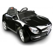 Vroom Rider Mercedes-Benz SLK Rastar 6V Battery Operated/Remote Controlled Ride-On, Black