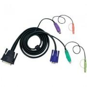 KVM kábel 1,8 m 2L-1701P (1013081)