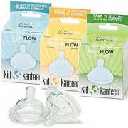 Kid Kanteen Baby Bottle Nipple Replacement Set