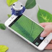 Microscop pentru camera smartphone, Discovery Channel