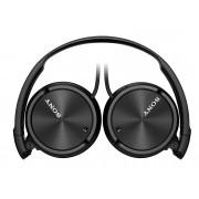 Sony Auriculares con cable SONY MDR-ZX110NA (On ear - Micrófono - Noise canceling - Atiende llamadas - Negro)