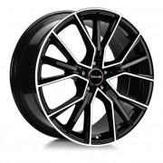 Avus Af18 9,5x21 5x112 Et25 66.6 Black - Llanta De Aluminio