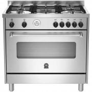 La Germania Amn965ext Cucina 90x60 5 Fuochi A Gas Forno Elettrico 85 L Classe A