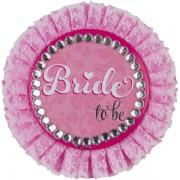 Insigna Bride to be petrecerea burlacitelor