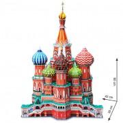 3D slagalica Hram Vasilija Blaženog RU 3D-0023