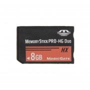 8GB Memory Stick Pro Duo Tarjeta De Memoria HX - 30 MB Por Segundo De Alta Velocidad, Para Su Uso Con PlayStation Portable (100% De La Capacidad Real)