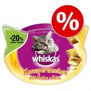 Whiskas Snacks 3 x 48 / 66 / 72 g ¡con gran descuento! - Temptations - Salmón (3 x 72 g)