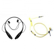 HBS 730 bluetooth headset and Zipper Wired Headset K92 Neckband bluetooth headset   Stereo Music Earphone Bluetooth Headset with Mic