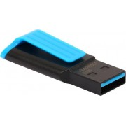 USB Flash Drive 32Gb - A-Data UV140 USB 3.0 Black-Blue AUV140-32G-RBE