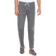 Cliths Dark Grey Slim Fit Solid 100% Cotton Trackpant for Men