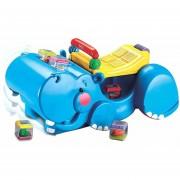 Hipopotamo Fisher Price Andador con Bloques-Azul