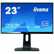 "iiyama ProLite XUB2390HS-B1 23"" Full HD LED Matt Flat Black computer monitor LED display"