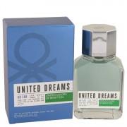 Benetton United Dreams Go Far Eau De Toilette Spray 3.4 oz / 100 mL Men's Fragrances 535357