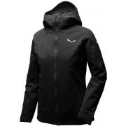 Salewa Ortles PTX 3L Stretch - giacca con cappuccio alpinismo - donna - Black