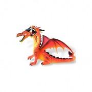 Figurina dragon orange cu 2 capete