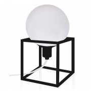 Globen Lighting Cube Svart Bordslampa