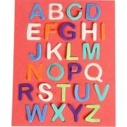 Sampada Craft Alphabet EVA stickers(Pack of 5)