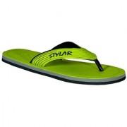 Stylar Virat II Flip Flops (N. Green)