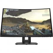 "Monitor VA, HP 23.8"", X24c Gaming, Curved 1500R, 4ms, 12Mln:1, HDMI/DP, FullHD (9FM22AA)"