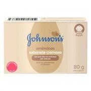 Sabonete Infantil Johnsons e Johnsons Baby Com óleo de Amendoas Com 80 G