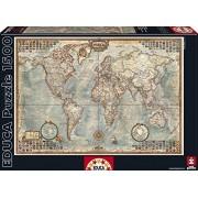 Educa Borras Puzzle Map of The World (1500 Pieces) by Educa Borras