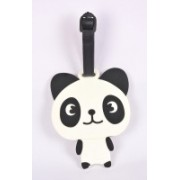 Shrisay Ventures Standing Panda Pack Of 2 Luggage Tag(Multicolor)