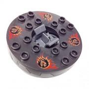 Lego Parts: Turntable 6 x 6 Samurai X (Retired 2012 - Ninjago Spinner)