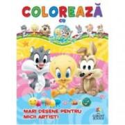 Mari desene pentru micii artisti Coloreaza cu Baby Looney Tunes
